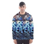 Pierce The Veil Quote Galaxy Nebula Hooded Wind Breaker (Men)