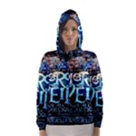 Pierce The Veil Quote Galaxy Nebula Hooded Wind Breaker (Women)