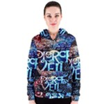 Pierce The Veil Quote Galaxy Nebula Women s Zipper Hoodie