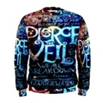 Pierce The Veil Quote Galaxy Nebula Men s Sweatshirt
