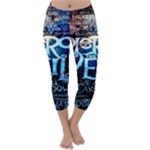 Pierce The Veil Quote Galaxy Nebula Capri Winter Leggings
