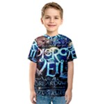 Pierce The Veil Quote Galaxy Nebula Kids  Sport Mesh Tee