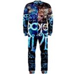 Pierce The Veil Quote Galaxy Nebula OnePiece Jumpsuit (Men)