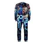 Pierce The Veil Quote Galaxy Nebula OnePiece Jumpsuit (Kids)