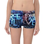 Pierce The Veil Quote Galaxy Nebula Boyleg Bikini Bottoms