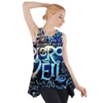 Pierce The Veil Quote Galaxy Nebula Side Drop Tank Tunic