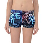 Pierce The Veil Quote Galaxy Nebula Reversible Boyleg Bikini Bottoms