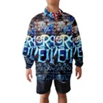 Pierce The Veil Quote Galaxy Nebula Wind Breaker (Kids)