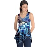 Pierce The Veil Quote Galaxy Nebula Sleeveless Tunic