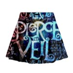 Pierce The Veil Quote Galaxy Nebula Mini Flare Skirt