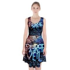 Pierce The Veil Quote Galaxy Nebula Racerback Midi Dress by Onesevenart