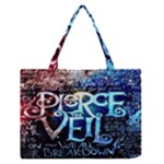Pierce The Veil Quote Galaxy Nebula Medium Zipper Tote Bag