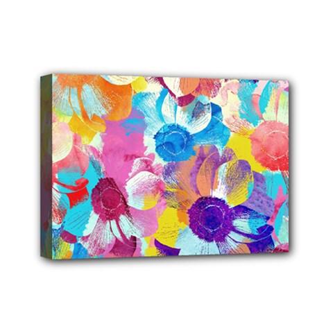 Anemones Mini Canvas 7  x 5
