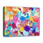 Anemones Canvas 14  x 11