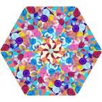Anemones Mini Folding Umbrellas