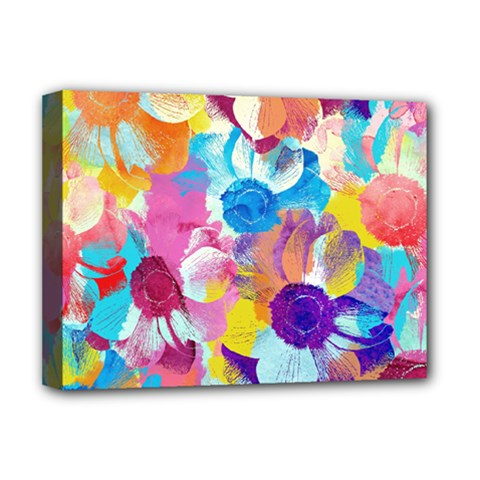 Anemones Deluxe Canvas 16  X 12   by DanaeStudio