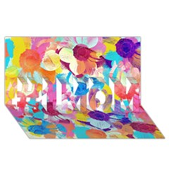 Anemones #1 MOM 3D Greeting Cards (8x4)