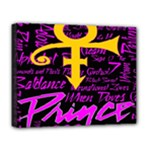 Prince Poster Deluxe Canvas 20  x 16