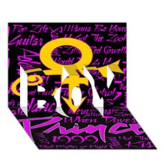 Prince Poster Boy 3d Greeting Card (7x5) by Onesevenart