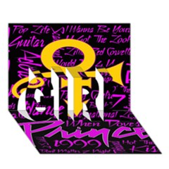 Prince Poster Girl 3d Greeting Card (7x5) by Onesevenart