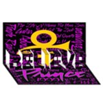 Prince Poster BELIEVE 3D Greeting Card (8x4)
