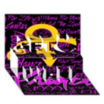 Prince Poster Get Well 3D Greeting Card (7x5)