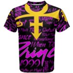 Prince Poster Men s Cotton Tee