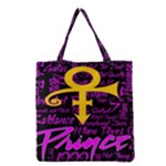 Prince Poster Grocery Tote Bag