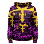 Prince Poster Women s Pullover Hoodie