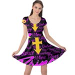Prince Poster Cap Sleeve Dresses