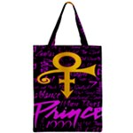 Prince Poster Zipper Classic Tote Bag