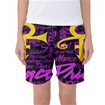Prince Poster Women s Basketball Shorts