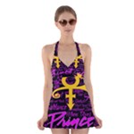 Prince Poster Halter Swimsuit Dress
