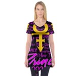 Prince Poster Short Sleeve Tunic