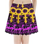 Prince Poster Pleated Mini Skirt