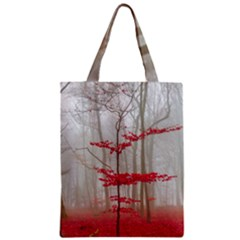 Magic Forest In Red And White Classic Tote Bag by wsfcow