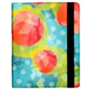 Red Cherries Samsung Galaxy Tab 8.9  P7300 Flip Case View2