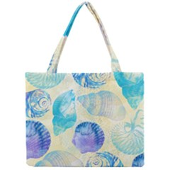 Seashells Mini Tote Bag by DanaeStudio