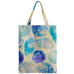Seashells Zipper Classic Tote Bag