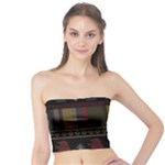 Tardis Doctor Who Ugly Holiday Tube Top