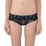 Tardis Doctor Who Ugly Holiday Classic Bikini Bottoms