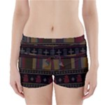 Tardis Doctor Who Ugly Holiday Boyleg Bikini Wrap Bottoms