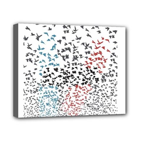 Twenty One Pilots Birds Canvas 10  X 8  by Onesevenart