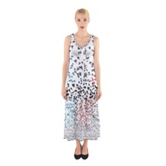 Twenty One Pilots Birds Sleeveless Maxi Dress by Onesevenart