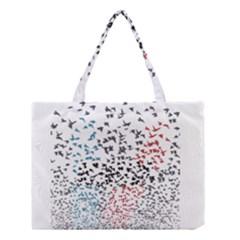 Twenty One Pilots Birds Medium Tote Bag by Onesevenart
