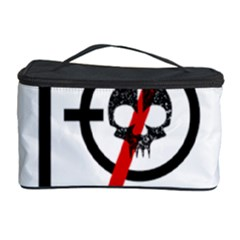 Twenty One Pilots Skull Cosmetic Storage Case by Onesevenart