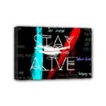 Twenty One Pilots Stay Alive Song Lyrics Quotes Mini Canvas 6  x 4