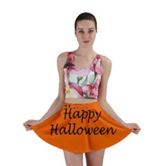 Happy Halloween   Owls Mini Skirt