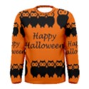 Happy Halloween - owls Men s Long Sleeve Tee View1