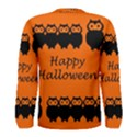 Happy Halloween - owls Men s Long Sleeve Tee View2